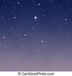 כוכבי, שמיים של לילה