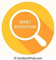 כוס, אופטי, מבוגר, מילים, חינוך, להגדיל