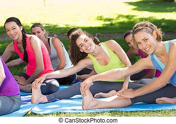 כושר גופני, קבץ, לעשות, יוגה, בפרק