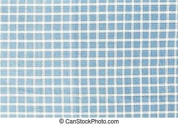כחול, בדוק, מארג, טקסטורה