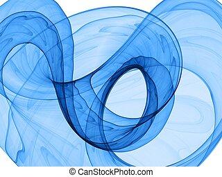 כחול, דינמי, רקע