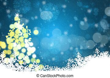 כחול, חג המולד, רקע