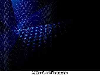 כחול כהה, תקציר, טק, רקע