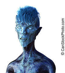 כחול, לעוז, דמות