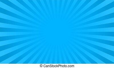 כחול, מואר, קרנות, רקע