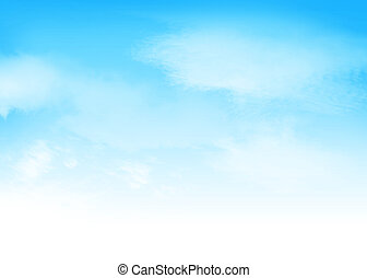 כחול, עננים, שמיים