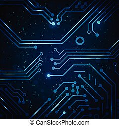 כחול, רקע., תקציר, טכנולוגיה