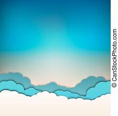 כחול, clou, שמיים, רקע