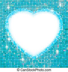 כחול, heart., הסגר, הכנסה לכל מניה, עצב, 8