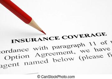 כיסוי של ביטוח