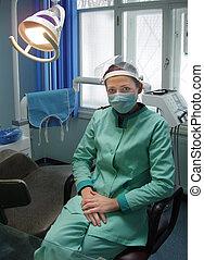 כירורגיה של השיניים, משרד