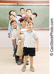 כיתה, ילדים של בית הספר