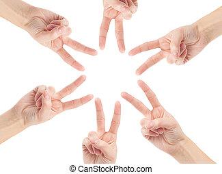 ככב, ליצור, עצב, שיתוף פעולה, ידיים