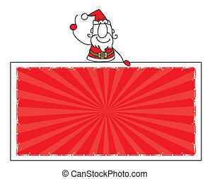 כלאאס, דגל, סנטה