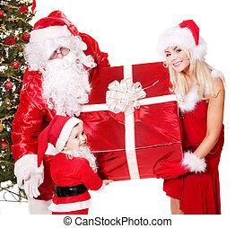 כלאאס, child., סנטה, משפחה