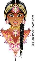 כלה, הודי, דמות