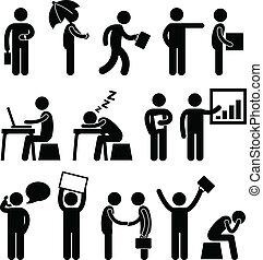 כלכלה של עסק, משרד, מקום עבודה