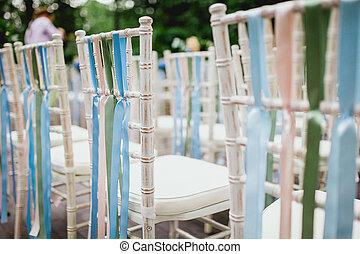 כסאות, טקס, חתונה