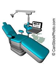 כסא של השיניים