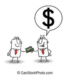 כסף, הלוה