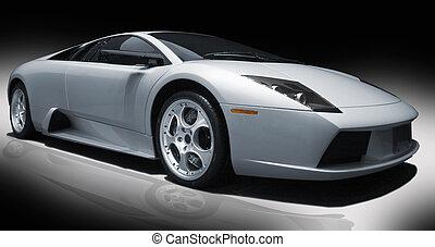 כסף, מכונית ספורט