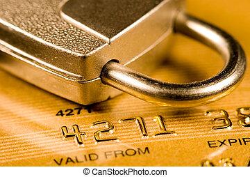 כרטיס אשראי, בטחון