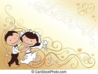 כרטיס, חתונה