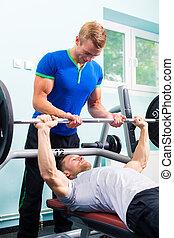 לאלף, אולם התעמלות, גברים, משקולת, כושר גופני, ספורט