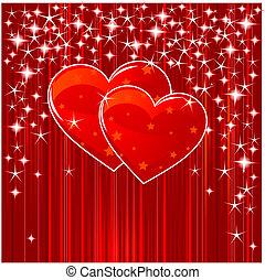 לבבות, פסים של כוכבים