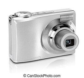 לבן, מצלמה, הפרד, רקע, דיגיטלי