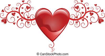 לב, מקושט