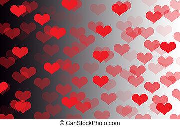 לב, צורה מופשטת, רקע