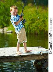 לדוג, צחק