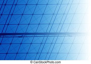 להנדס, רקע כחול