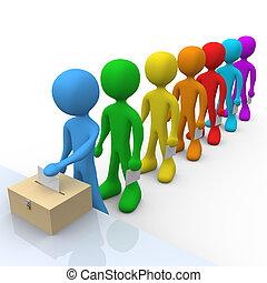 להצביע