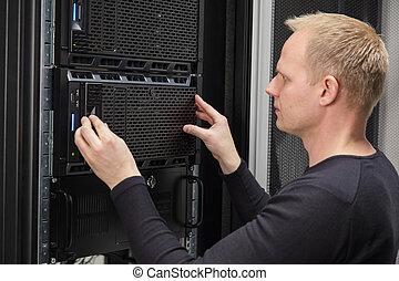 להתקין, datacenter, שרת, זה יועץ