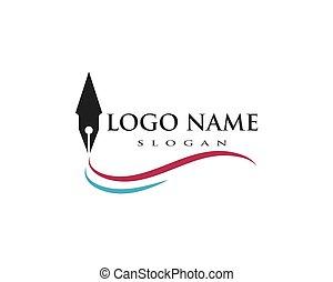 לוגו, כתוב, דפוסית