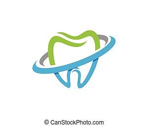 לוגו, של השיניים, דפוסית