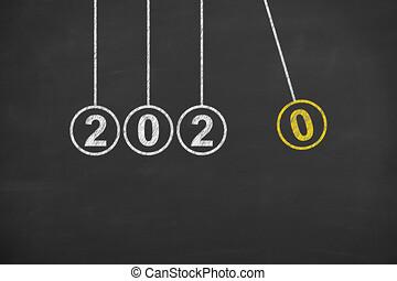 לוח, 2020, רקע, חדש, אנרגיה, מושגים, שנה
