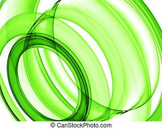 לולאות, ירוק