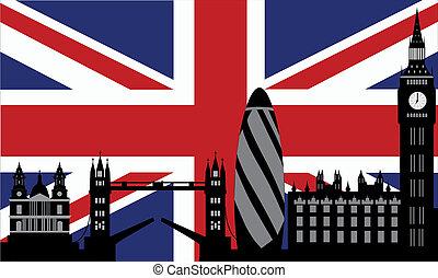 לונדון, קו רקיע