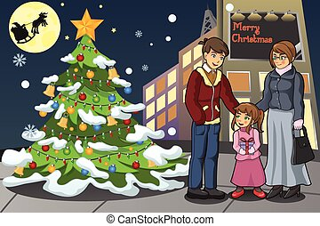 לחגוג את חג המולד, משפחה