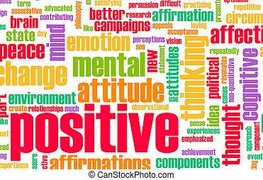 לחשוב, חיובי
