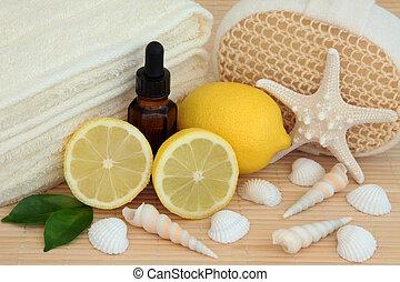לימון, טיפול של ספא
