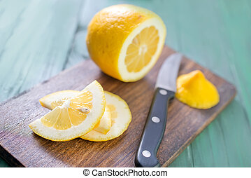 לימון, עלה