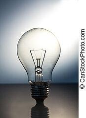 לעמוד, גדול, אור מואר, נורת חשמל