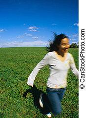 לרוץ, joy!