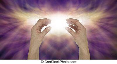 לשלוח, אנרגיה, להרפא