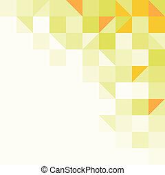 מואר, רקע צהוב