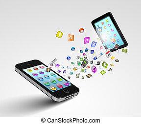 מודרני, תקשורת, טכנולוגיה